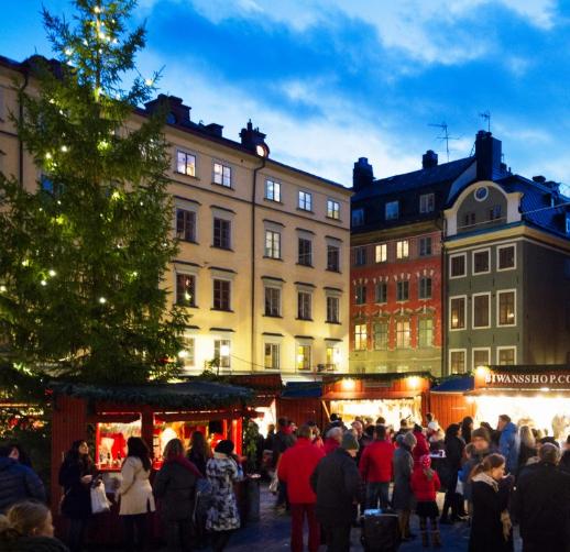 Escapada a Estocolmo 98€/p = 2 noches en hotel 3* + desayuno + vuelos desde Málaga