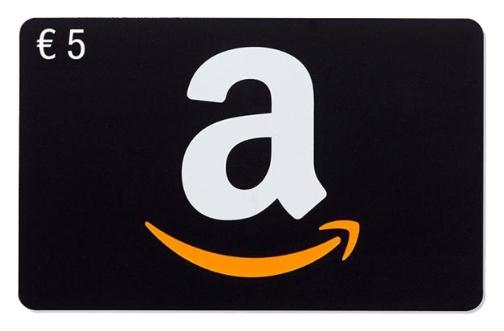 5€ GRATIS para Amazon al recargar 25€
