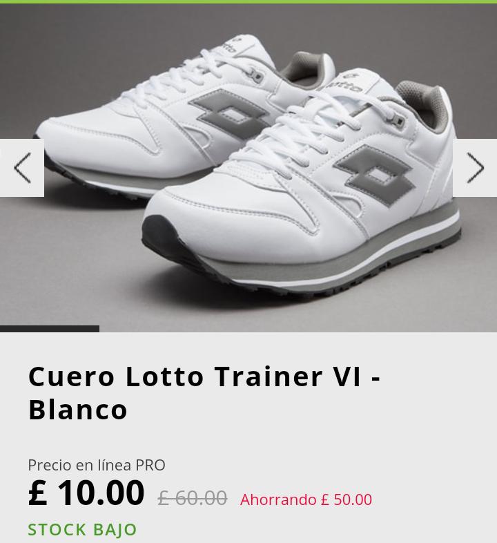 Ultimo stock en zapatillas pro direct select