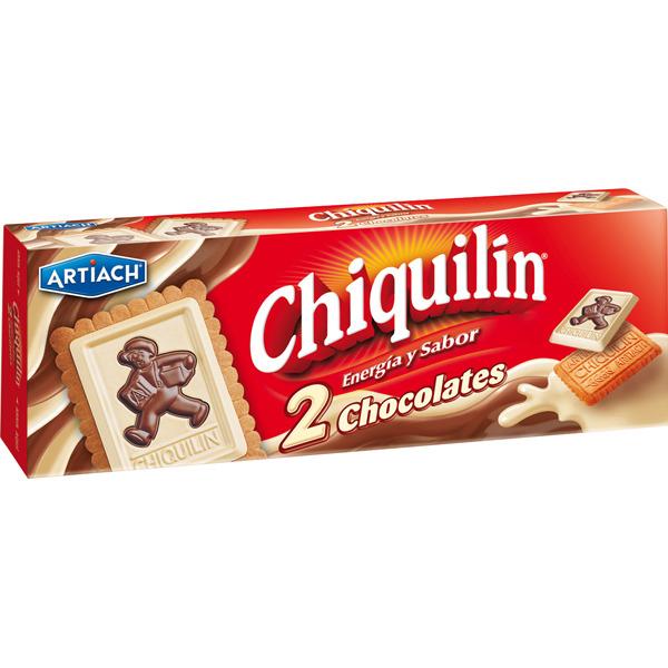 Galletas Chiquilín Dos Chocolates 150g
