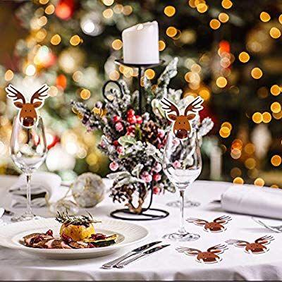 10 Tarjetas ecológicas para copa de vino (navideña) [Desde la app]