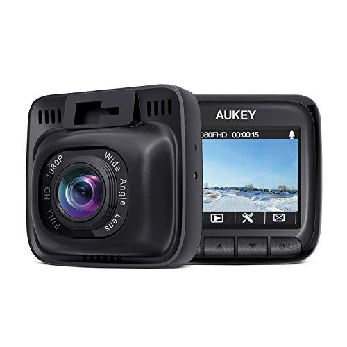 AUKEY Cámara de Coche Full HD 1080P Dash Cam