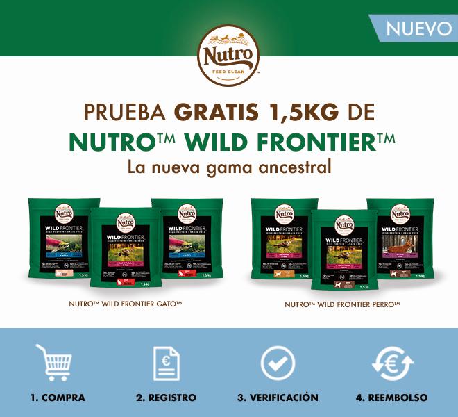 [Reembolso] Nutro Wild Frontier - Gama ancestral - Perro y gato