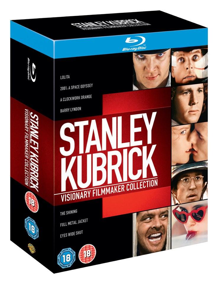 Colección BluRay del Maestro Stanley Kubrick (Especial regalos frikis)