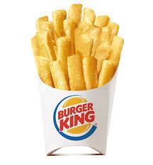 Patatas fritas a 0.5 en Burguer King