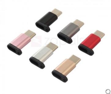 PRÁCTICO Conversor Micro USB a USB tipo-C