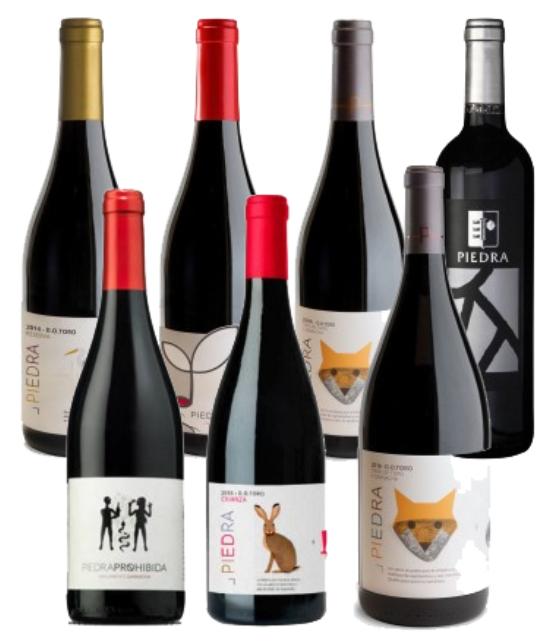 PACK 7 vinos Bodegas Piedra solo 35.9€