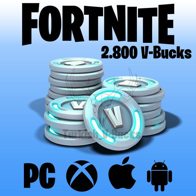 Fortnite 2500 + 300 Pavos