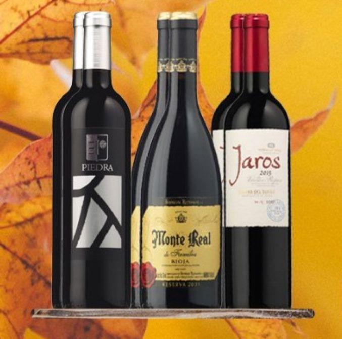 Pack de 6 botellas de vino - Vinoseleccion - Cuentas nuevas