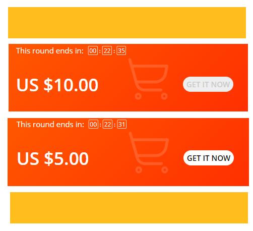 Otros 10$ + 5$  para el 11/11 en  Aliexpress