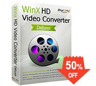 WinX HD Video Converter Deluxe (gratis) sin actualizaciones.