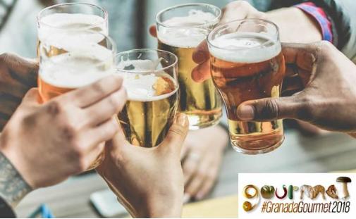Apúntate gratis a los talleres y catas de Granada Gourmet + 1 cerveza gratis