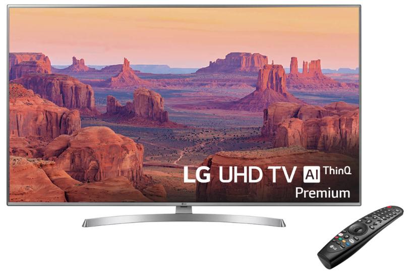 "TV LED 164 cm (65"") LG 65UK7550PLA 4K IPS con NanoCells HDR Smart TV"