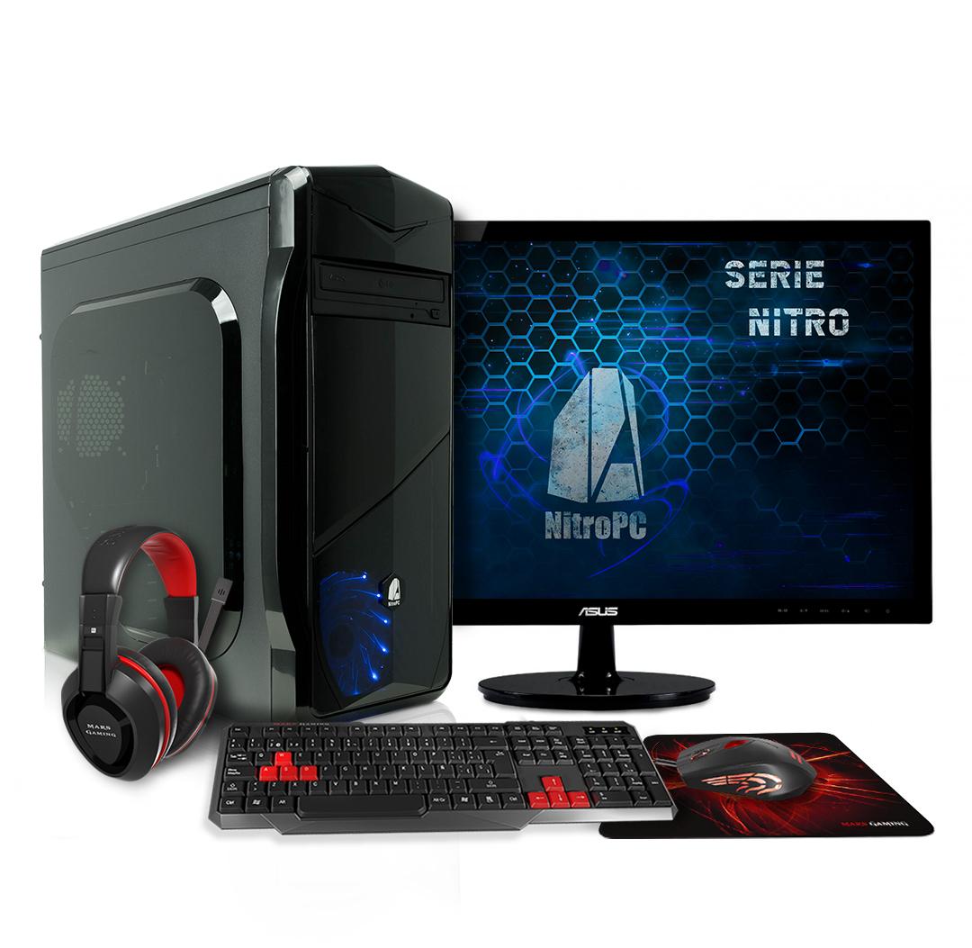 Pack Gamer Essential: ordenador + periféricos