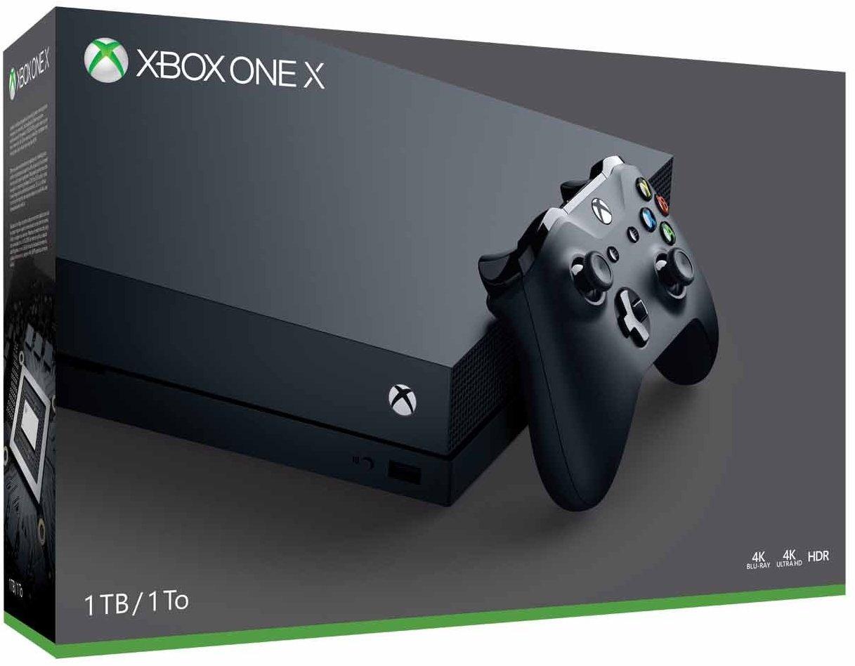 Xbox One X 4K 12GB RAM solo 369€