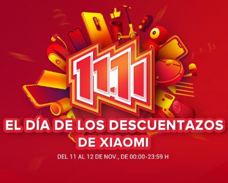 El 11/11 en Xiaomi España: Cupones de hasta 50€ y Redmi 5 Plus a 99€