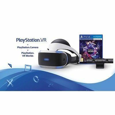 PLAYSTATION VR + CAMARA + VR WORLDS PS4 PACK REALIDAD VIRTUAL