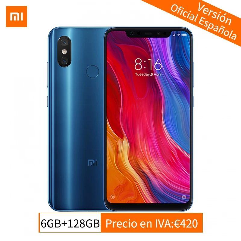 Xiaomi mi 8 6/128 (envío desde España, con cupón del vendedor y el de 9€ de AliExpress)
