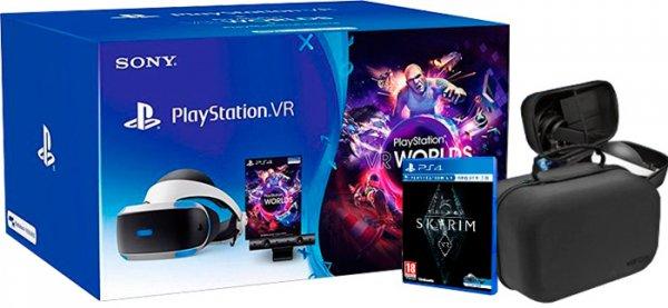 PlayStation VR (ZVR2 Modelo) + Camara + VR Worlds + Skyrim VR