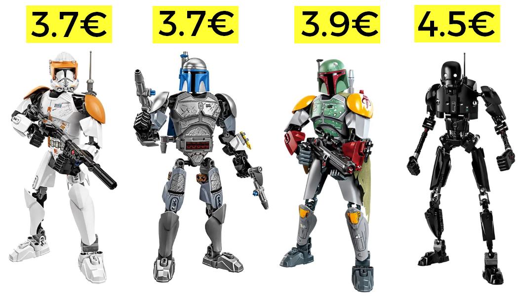 Figuras de Star Wars desde 3.7€