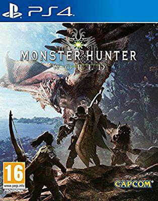 PS4 Monster Hunter:World SOLO AMAZON PRIME