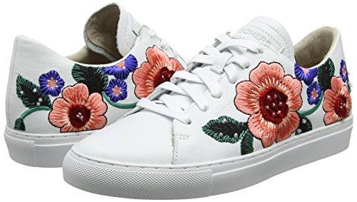 Zapatillas de cuero para Mujer Skechers Vaso-Flor