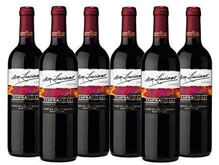 Don Luciano Vino Tinto - 6 Botellas x 750 ml - Total: 4500 ml