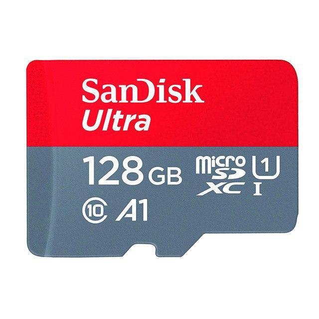 Sandisk 128Gb MicroSD clase 10 solo 9.3€