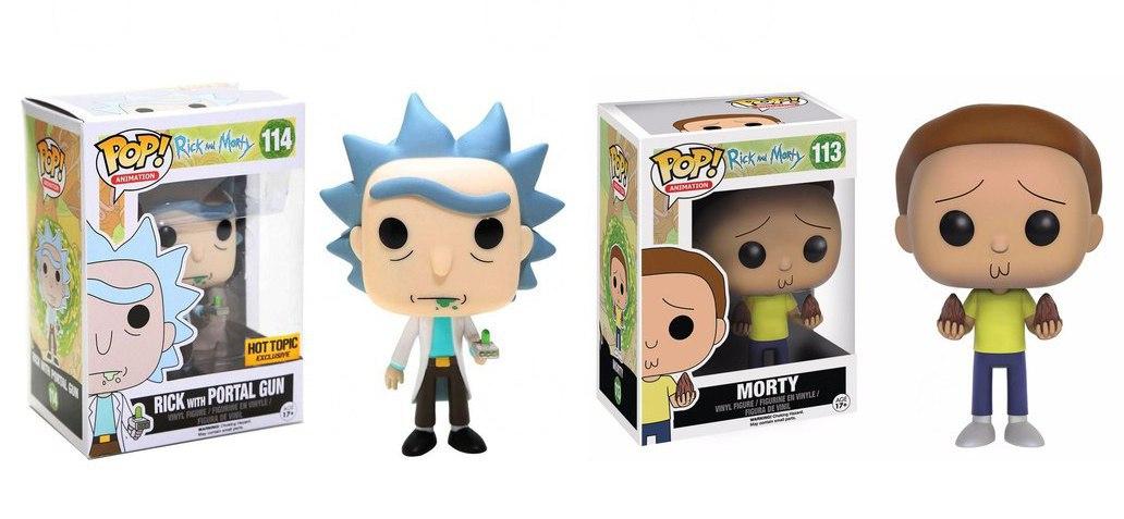 Funkos Rick y Morty