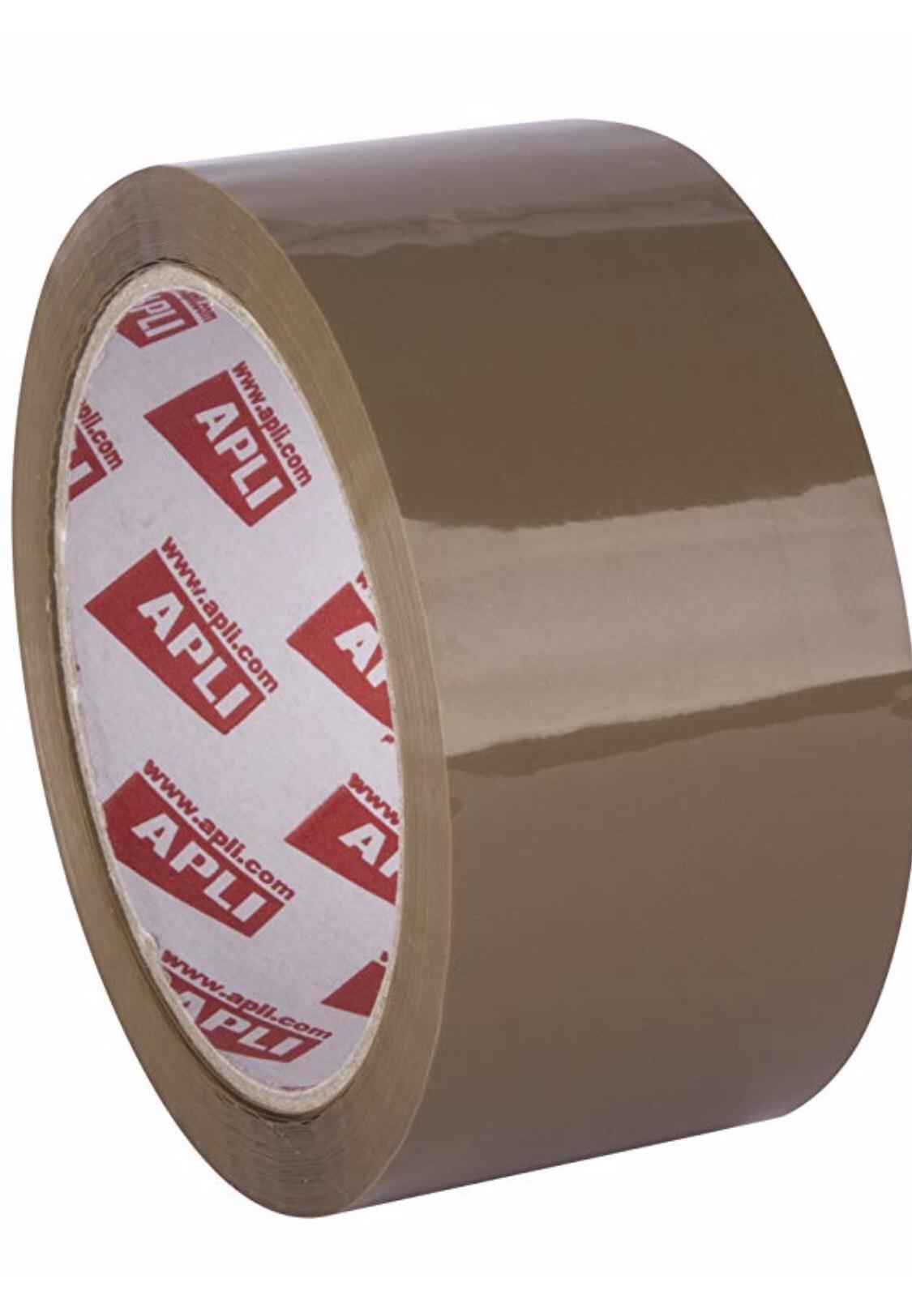 APLI - 36 rollos color marrón