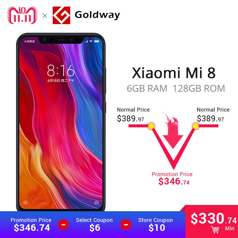 Xiaomi Mi8 128gb Chino con Rom Global multilenguaje - Goldway