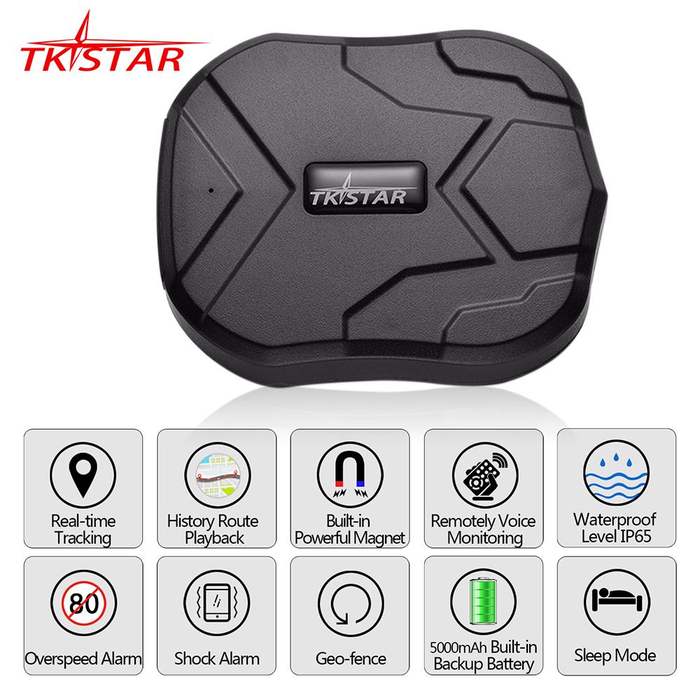 Rastreador GPS Vehículo TKSTAR- Aliexpress