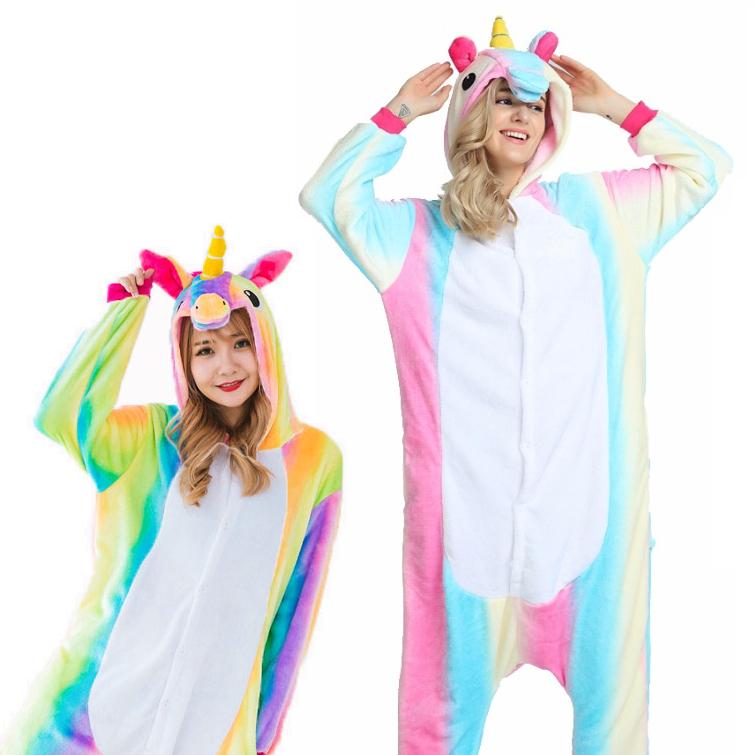 Pijama de Unicornio arcoiris solo 9€