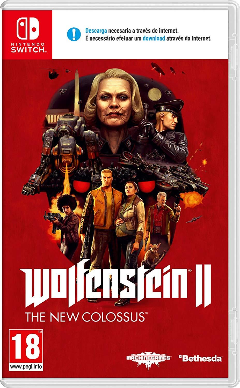 Wolfenstein 2 - Switch