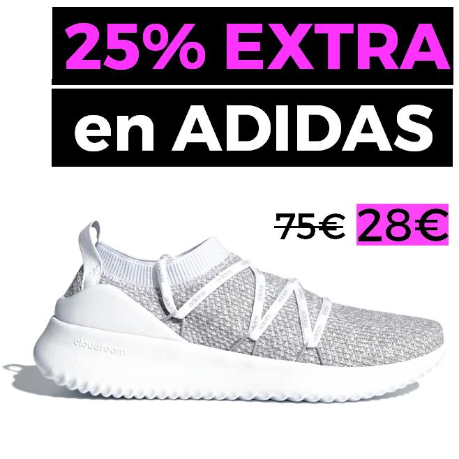 25% EXTRA en Outlet ADIDAS + Envío gratis