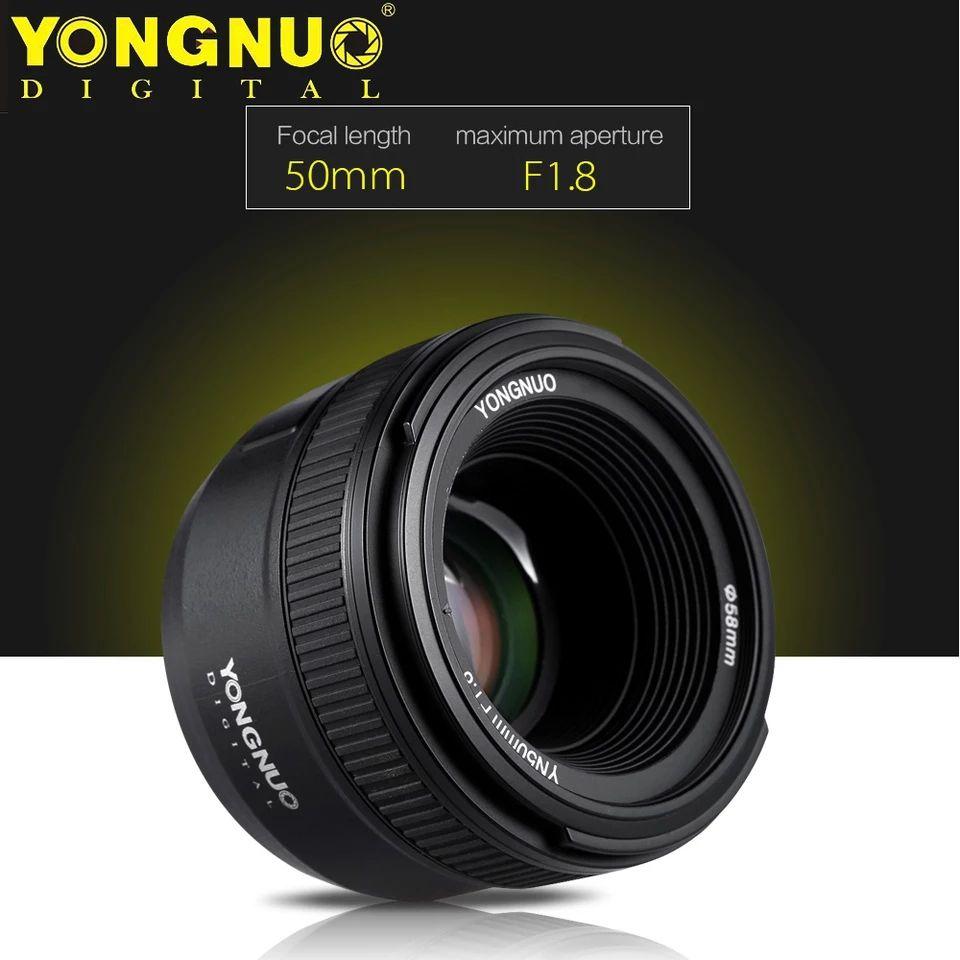 Objetivo Yongnuo 50mm F1.8 para Nikon
