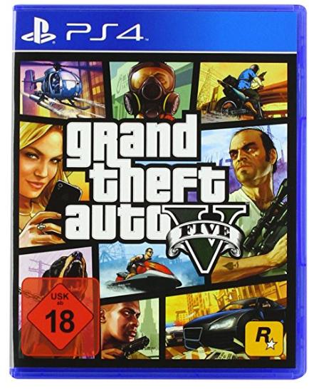 GTA 5 (Grand Theft Auto) para PS4 físico