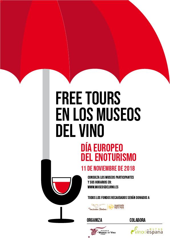 DÍA EUROPEO DEL ENOTURISMO: Free Tours en 18 Museos del Vino