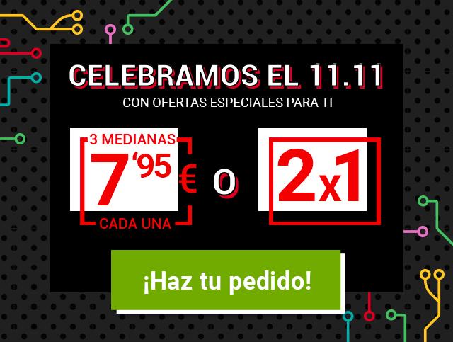 Telepizza se suma al 11.11