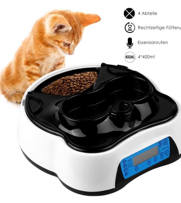 2 en 1 Alimentador Automático para Mascotas