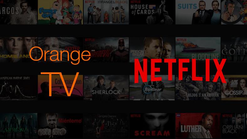 3 meses de Netflix gratis para clientes de orange tv cine y series