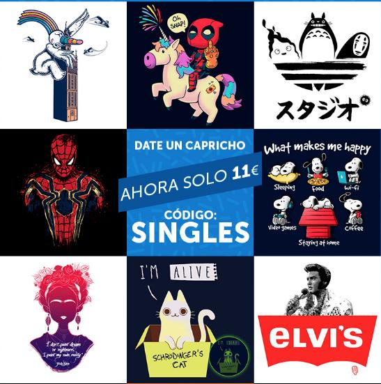 Camisetas Pampling 11 DISEÑAZOS a 11€ ¡solo hoy!