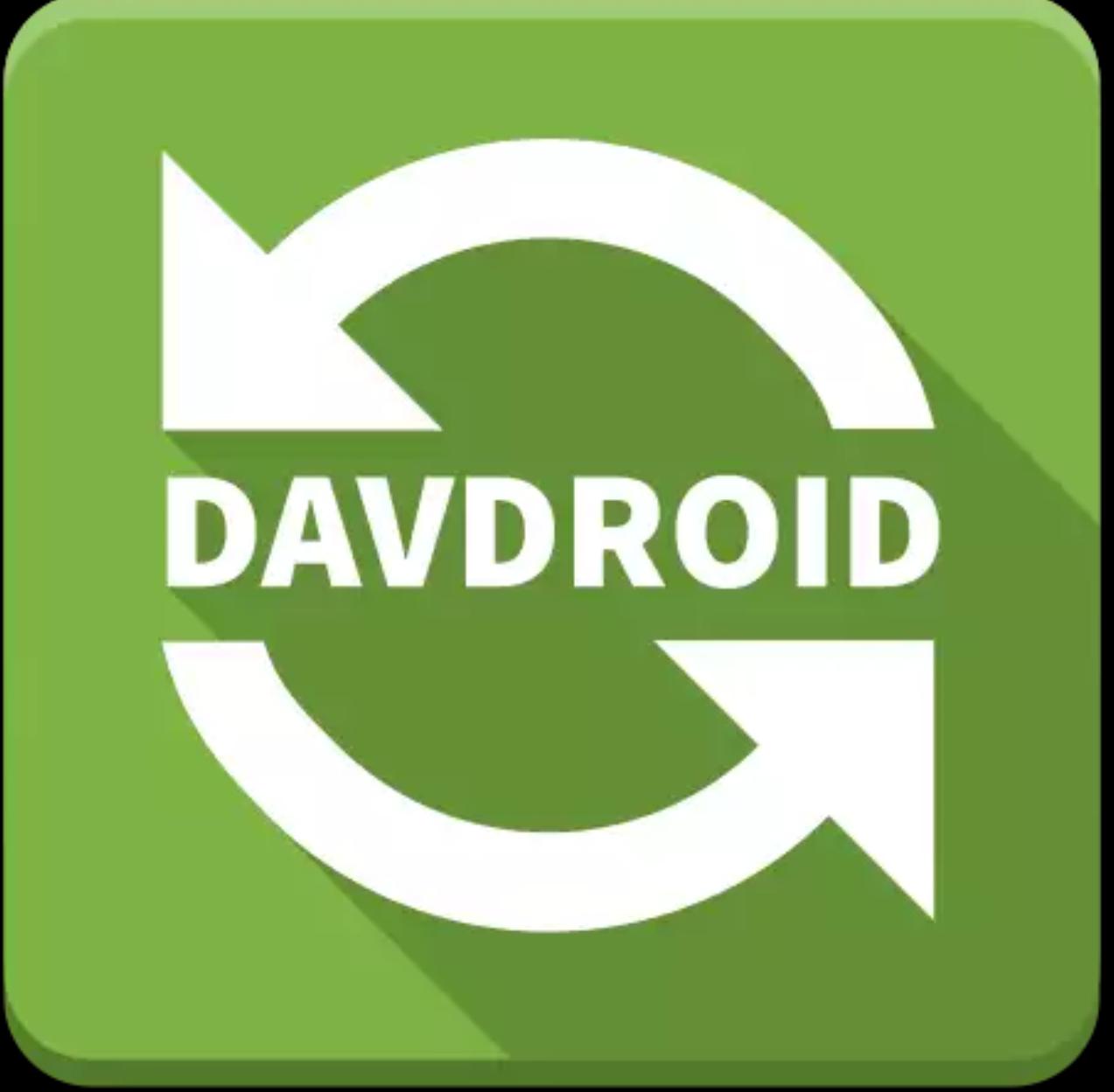 Android: DAVdroid CalDaV/CarDAV synch. Gratis