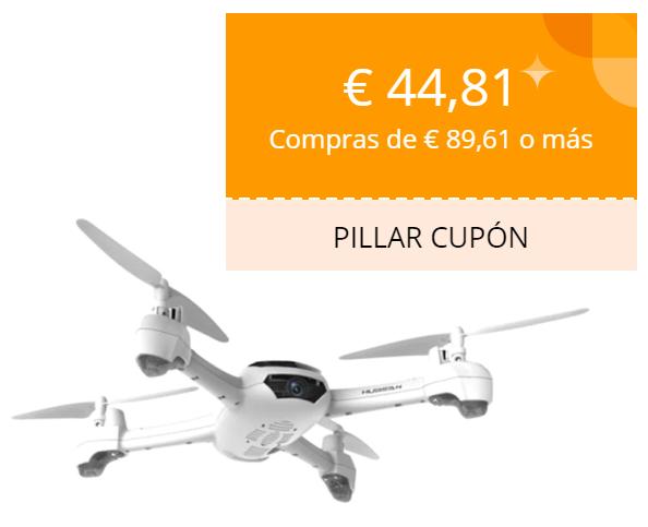Cupón 44.81€ en la tienda oficial de drones Eachine