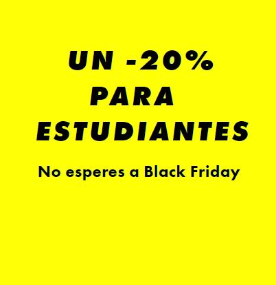 -20% para estudiantes en ASOS