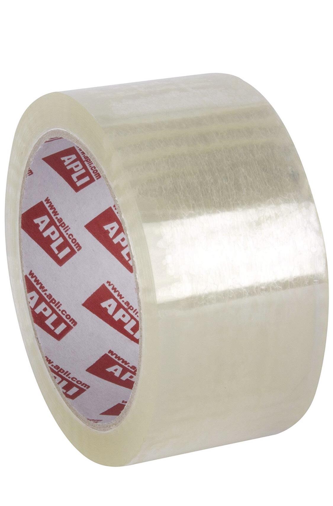 APLI 36 rollos cinta transparente 132 metros por rollo