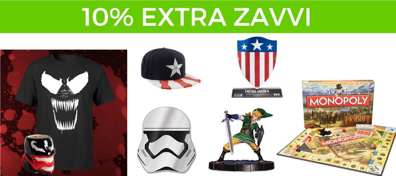 10% Extra en Zavvi