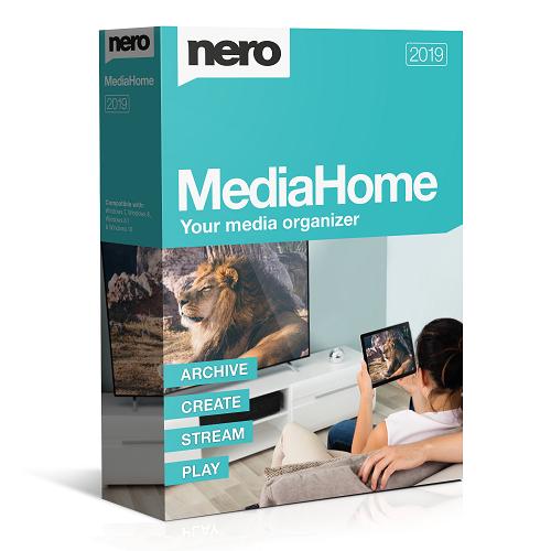 Nero MediaHome 2019 - Centro multimedia GRATIS