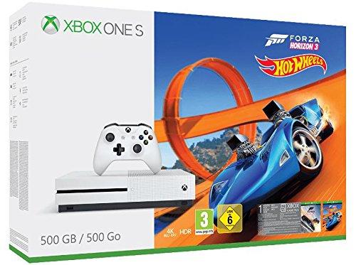 Xbox One S 500GB + Forza Horizon 3 + Hot Wheels DLC