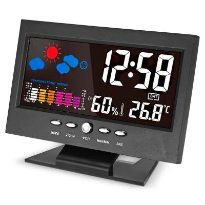 Reloj con alarma y meteorología solo 3€